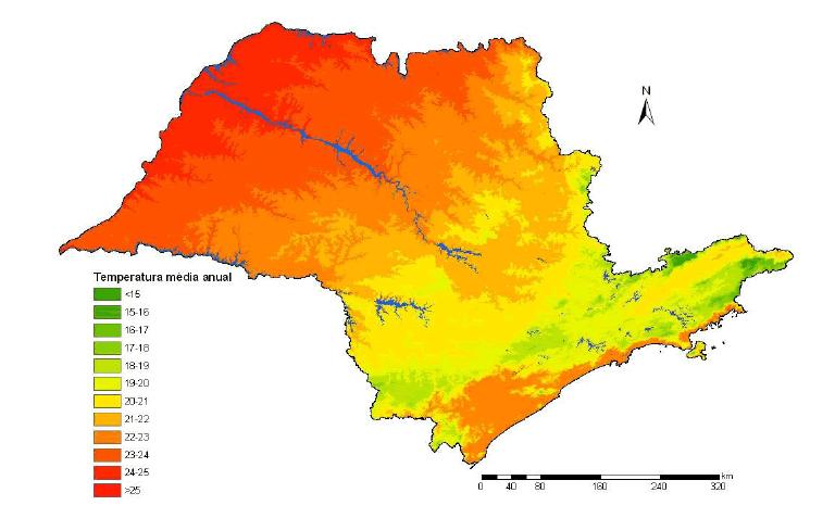 Clima sao paulo brasil pictures to pin on pinterest for Temperatura frigo da 1 a 7